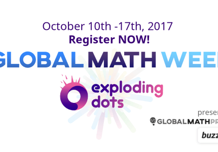 Exploding Dots - Global Math Week - October 10th, 2017