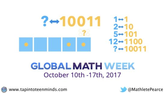 Exploding Dots - Global Math Week - How Many Dots for 10011?