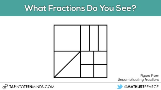 Cover It Up! K-4 Task 25 - Junior and Intermediate Grades - What Fractions Do you See