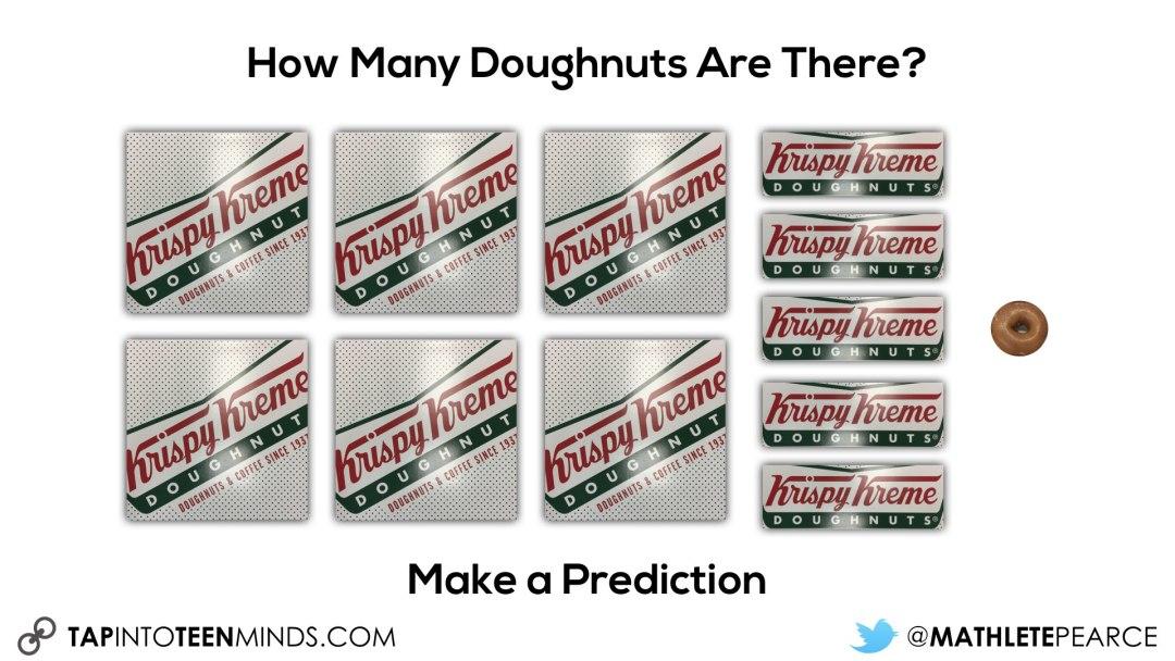 6 squares 5 strips 1 doughnut