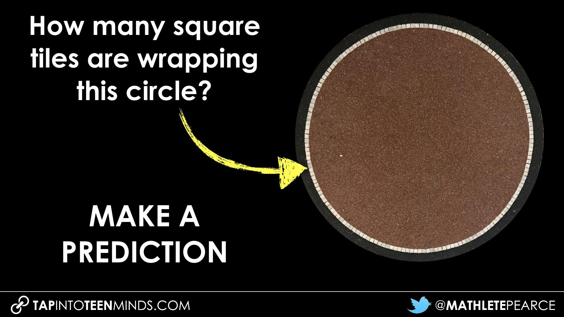 Tile Circle 3 Act Math Task