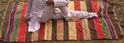 tapis de yoga com