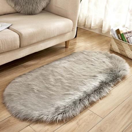tapis ovale