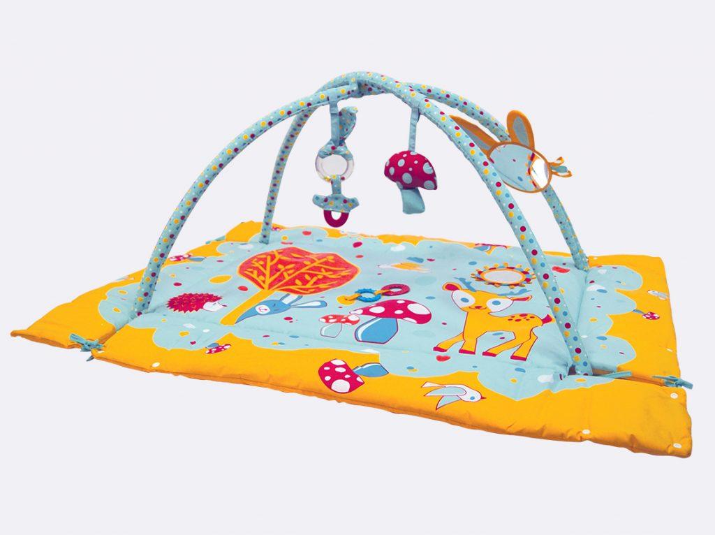 tapis d eveil avec rebord ludi 120x90