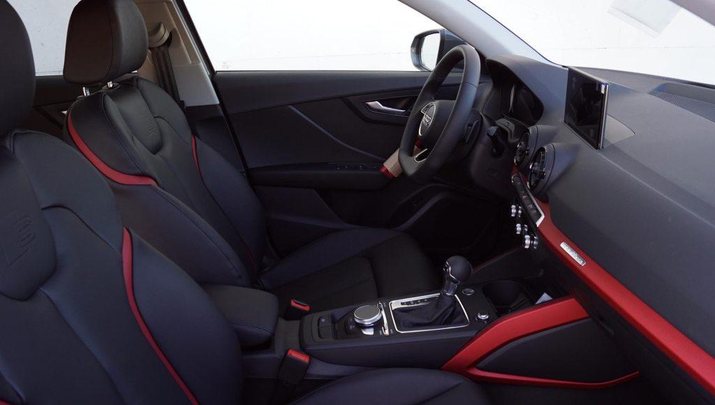 Tapiceria de cuero Audi Q2