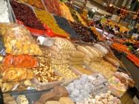 My favorite dried fruit stand at the Besarabs'kyy Rynok in Kyiv