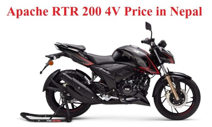 Apache RTR 200 4V Price in Nepal with Full Bike Specification and Features