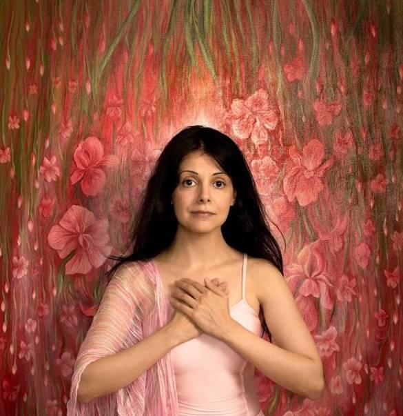 Lida Sherafatmand, Iranian Artist