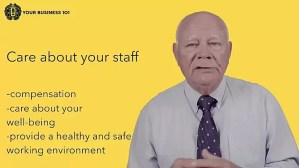 Workplace Health & Safety video Business 101 Training by Tapp Advisory