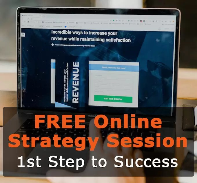 FREE Online Business Strategy Session