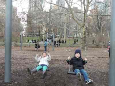 swings in central park