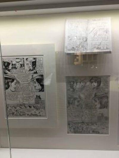 Comic strip museum
