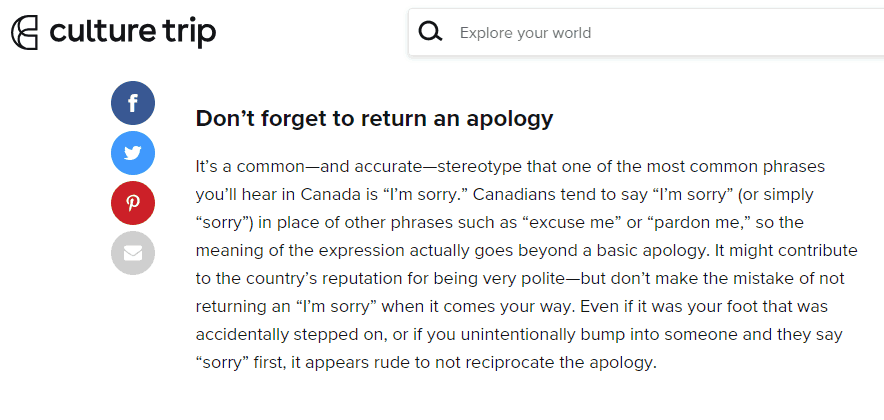 Canadians might not be an easily offended bunch, but these 20+ things are guaranteed to rub us the wrong way. Here's what you can't say to a Canadian.
