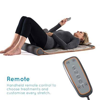 HoMedics stretch tappetino remote