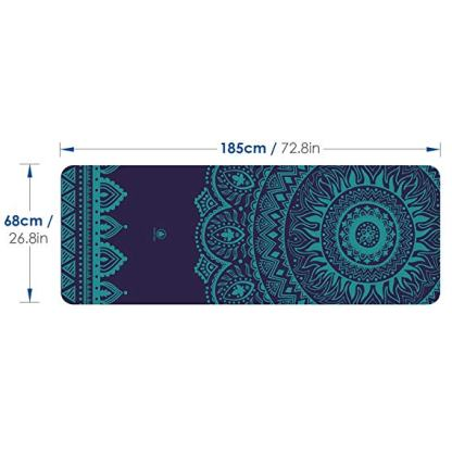tappetino Homfa multiuso blu dimensioni