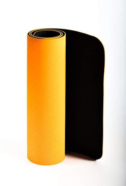 tappetino TPE ecologico JAS Namaste 6mm arancione