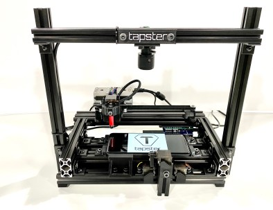 Tapster Tbot with Push Button and Camera