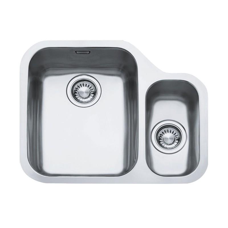franke ariane 1 5 bowl rhsb undermount sink stainless steel
