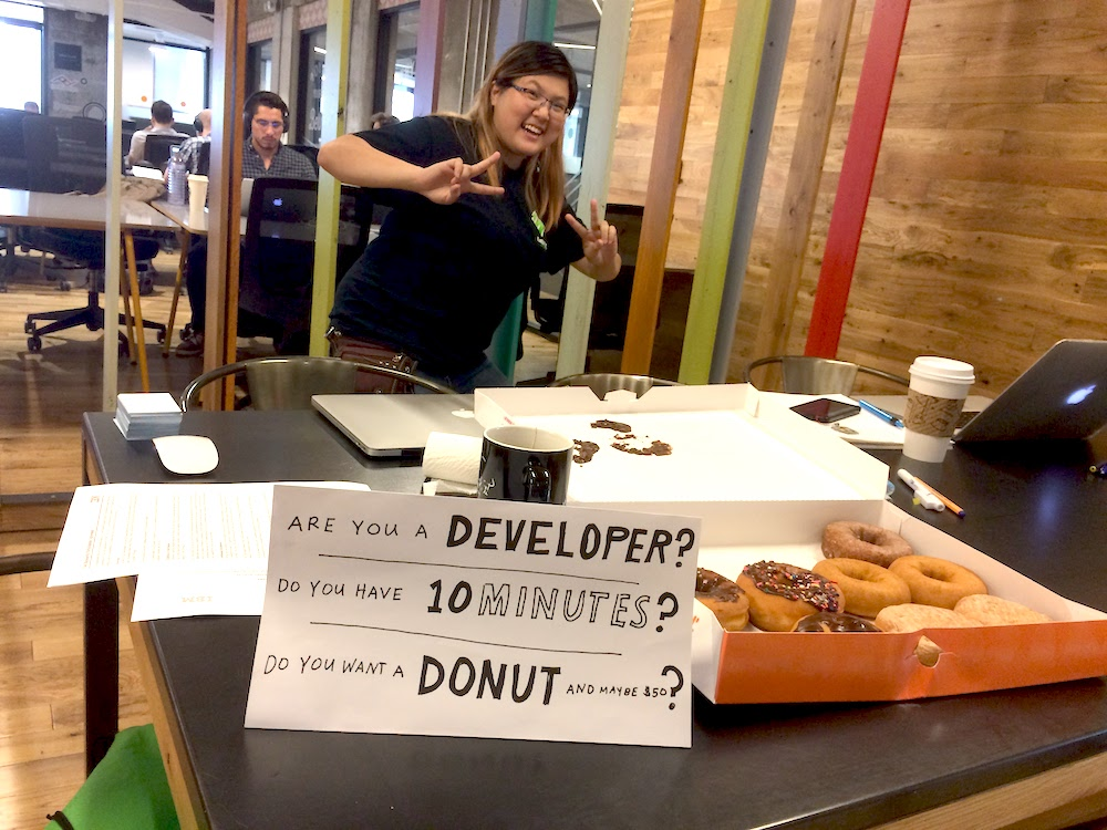 Challenges with enterprise ux. Recruiting developers to test at WeWork Austin