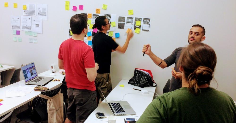 ux portfolio checklist - first day of design class