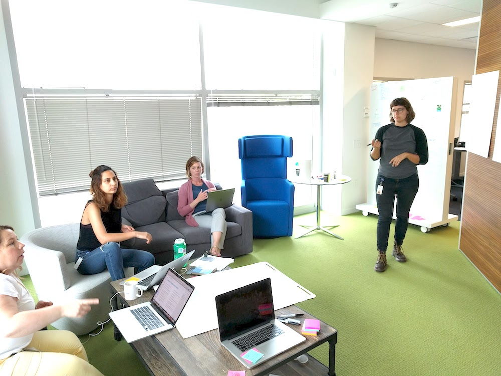 My day as a product design lead - planning workshops