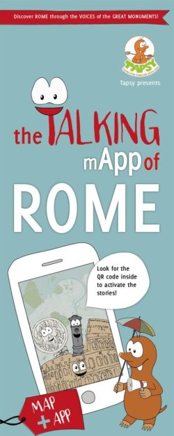 Talking Map of Rome for families with kids