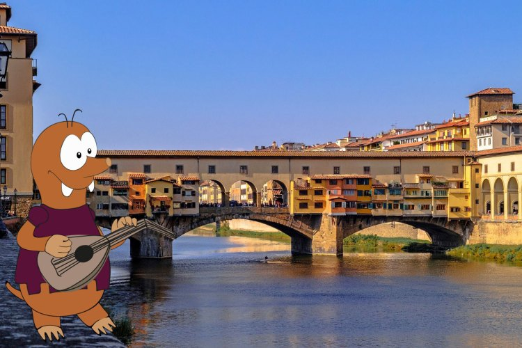 Tapsy tour of Florence with kids