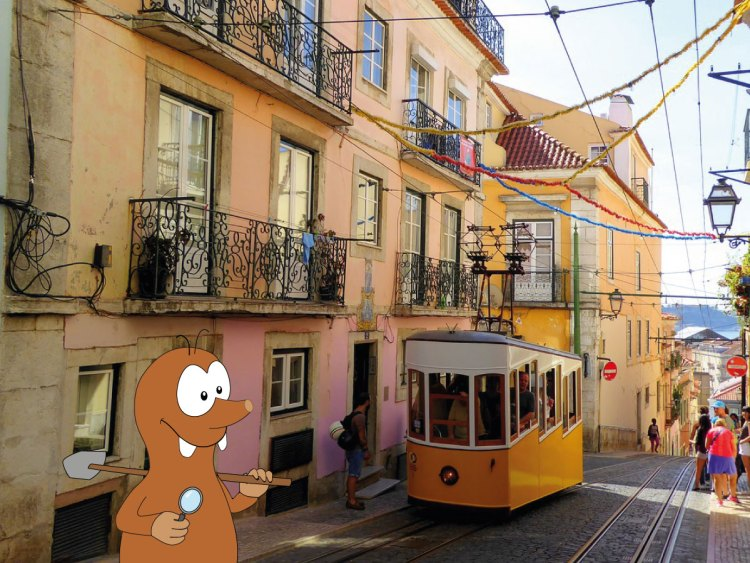 Lisbon in Portugal with kids with Tapsy Tours