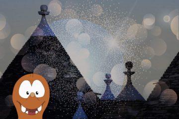 the Alberobello light festival on Tapsy Blog
