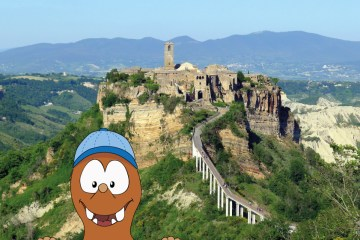Civita di Bagnoregio, the the dying town near Rome with kids on Tapsy Blog