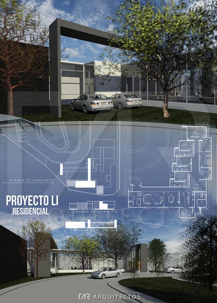 Infografía arquitectónica proyecto residencial