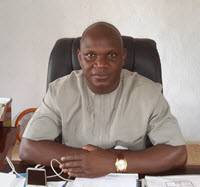 Dr. David Ishaya, Comm. Min. of Agriculture