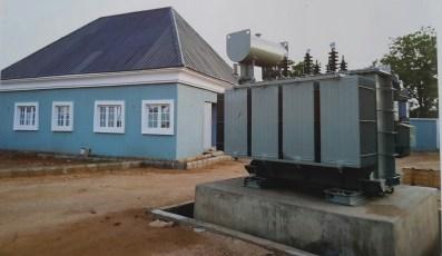 Construction ofnstandard control room