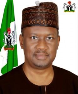 The Deputy Governor, His Excellency, Engr. Haruna Manu