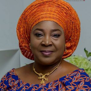 Wife of the Executive Governor  Barrister (Mrs.) Anna Mbasughun Darius Ishaku