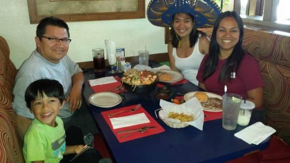 La comida mexicana es delicioso