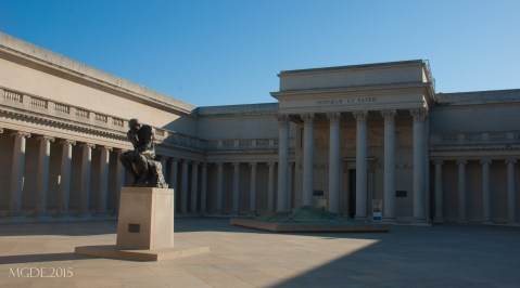 Palace of the Legion of Honor Art Museum, an exact replica of the Legion of Honor Palace in Paris.
