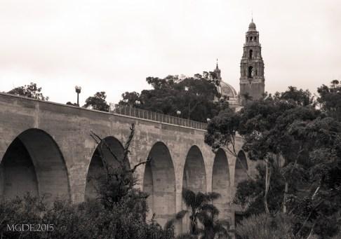California Bell Tower and Cabrillo Bridge