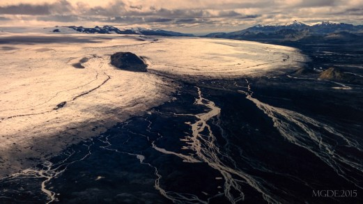 The peak of southern Iceland's 4th-largest ice cap.