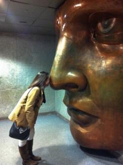 Nose rub :P