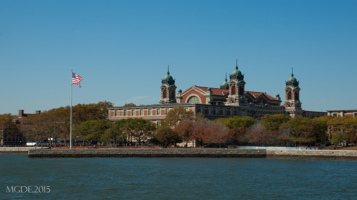Main Building in Ellis Island, which houses now the Immigration Museum.