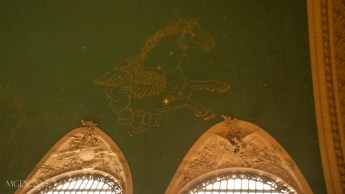 Starry ceiling of the Grand Central Terminal