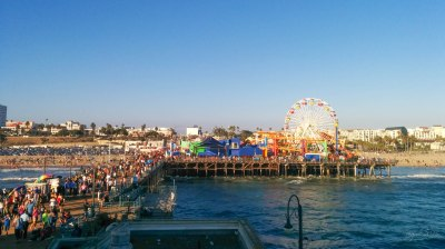 Fullpack Sta Monica Pier!