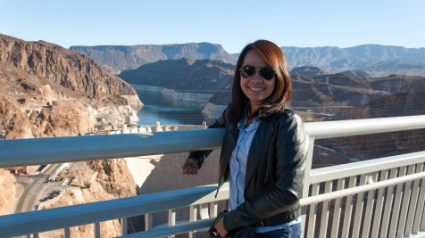 Standing 900-ft above the Colorado River