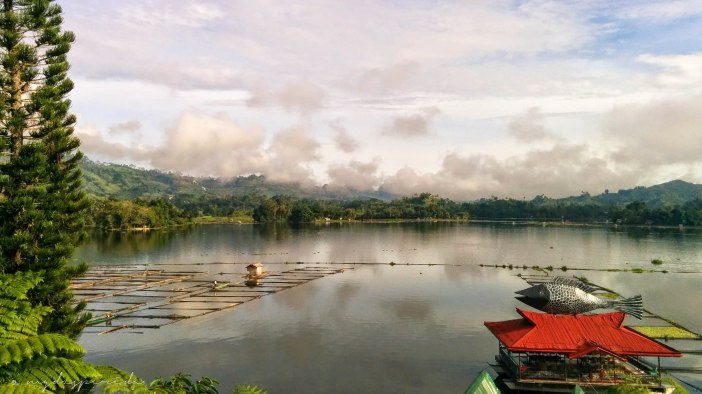 Lake Sebu as seen from Punta Isla resort.
