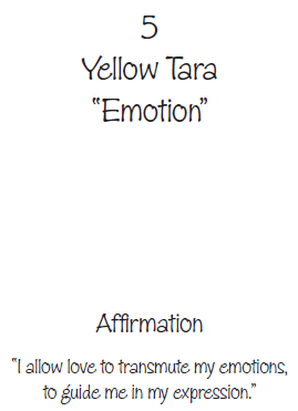 yellow tara