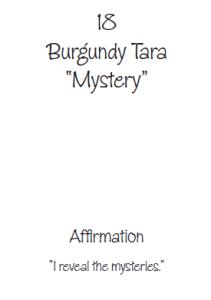 Burgundy Tara