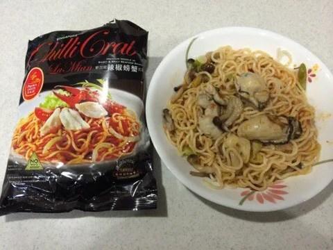 シンガポール土産におすすめのChilli Crab LaMian(チリクラブラーメン)実際の比較w