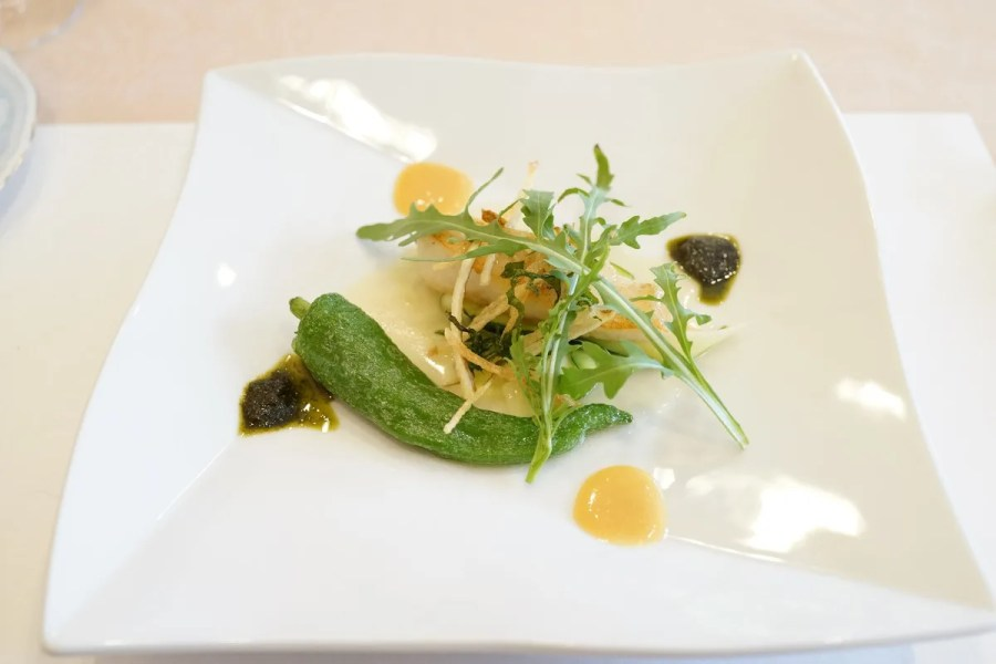 欧風懐石 勝 - お箸で食べる創作フレンチメニュー写真 魚