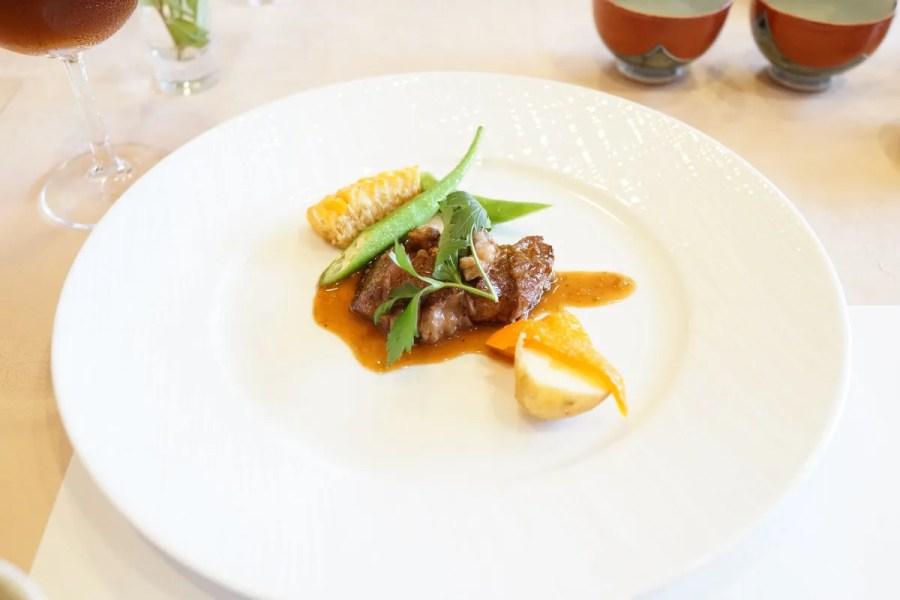 欧風懐石 勝 - お箸で食べる創作フレンチメニュー写真 メインのお肉料理